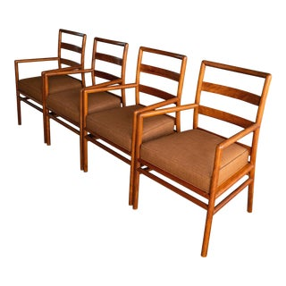 Mid-Century Robsjohn Gibbings Arm Chairs - Set of 4