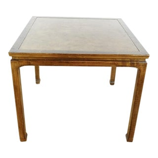 Asian Baker Furniture Collector's Edition End Table For Sale