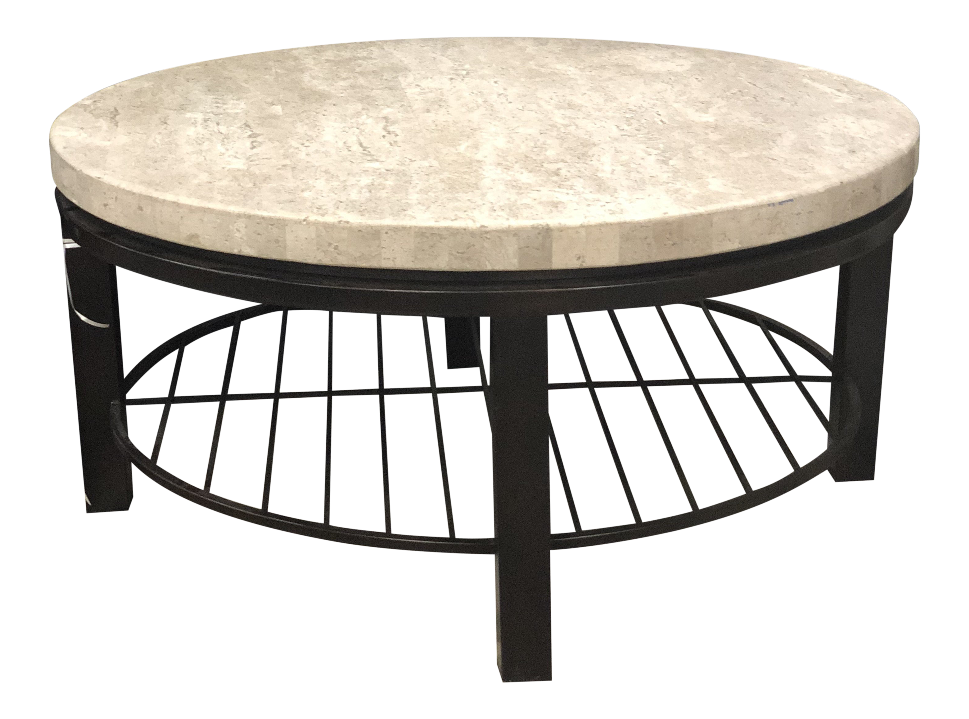 Charmant Transitional Bernhardt Tempo Round Coffee Table