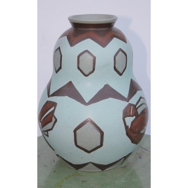 Villeroy and Boch Bird Motif Vase For Sale In Palm Springs - Image 6 of 6