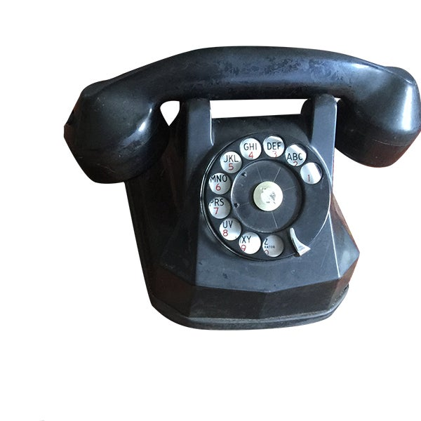 Vintage Rotary Dial Telephone Works! - Image 1 of 5