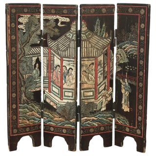 18th C. Chinese Table Top Screen For Sale
