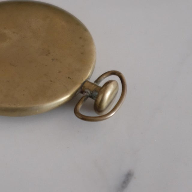Carl Auböck Pocket Watch Paperweight by Carl Auböck For Sale - Image 4 of 5