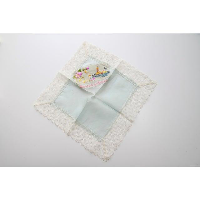 "World War I ""Souvenir De France"" Silk Handkerchief - Image 6 of 11"