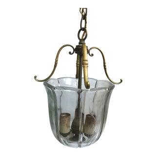 Vintage Pendant Bell Jar