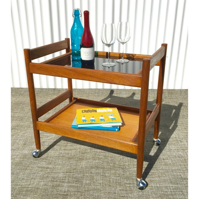 Mid-Century Modern Bar Cart - Image 4 of 4