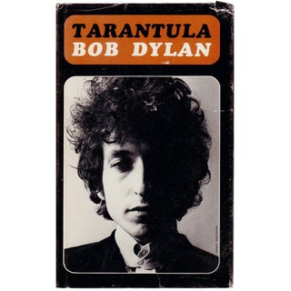 "1970s ""Tarantula"" Hardcover Book by Bob Dylan For Sale"
