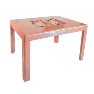 Karl Springer Game Table For Sale