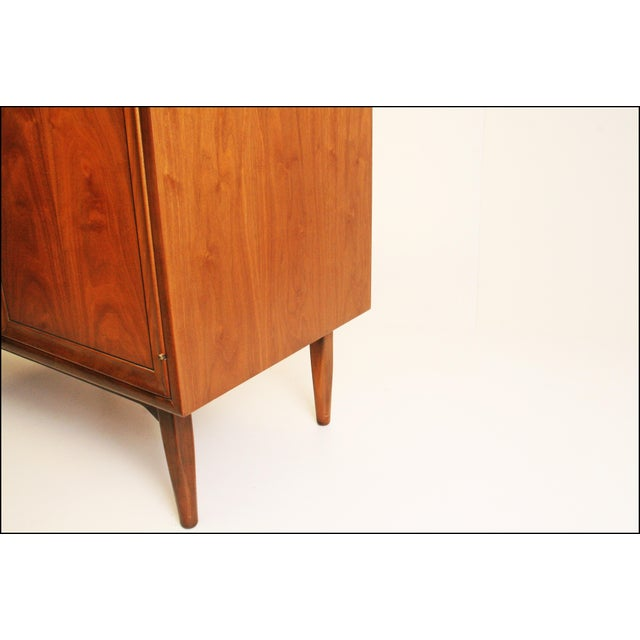 Mid-Century Modern Drexel Wood Record Cabinet - Image 6 of 11
