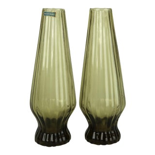 Finnish Mid Century Bud Vases - a Pair For Sale