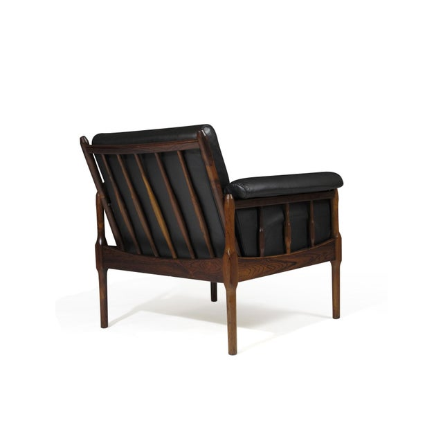 Brown Torbjørn Afdal Rosewood Lounge Chairs - a Pair For Sale - Image 8 of 12