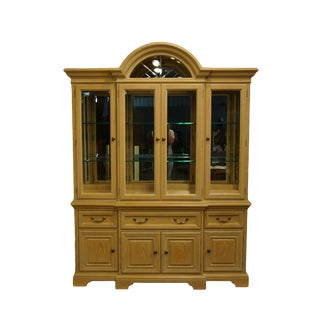 Thomasville Furniture Windrift Collection China Cabinet For Sale
