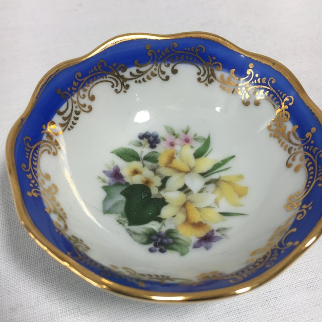 French Limoges Floral Dish - Image 5 of 6