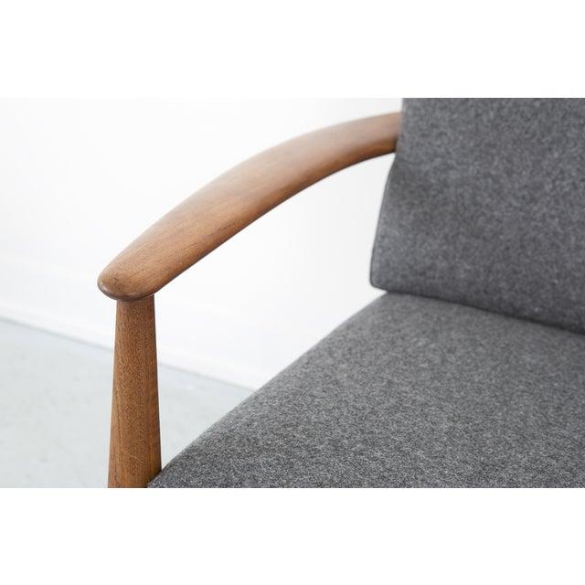 Grete Jalk for France + Daverkosen Teak Wood Sofa - Image 8 of 11