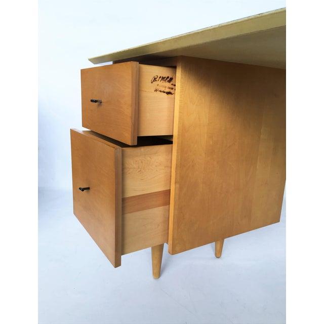 1950s Paul McCobb Planner Group Desk For Sale - Image 5 of 7