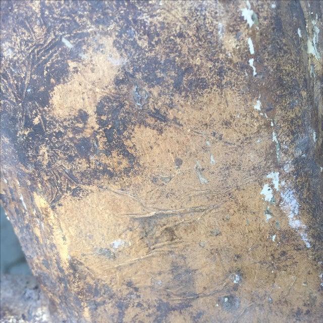 "Gilt Wood Letter ""A"" - Image 3 of 5"