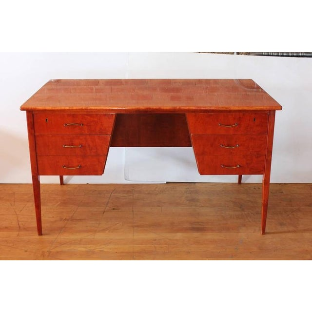 Stylish Mid Century Writing Desk - Image 2 of 3