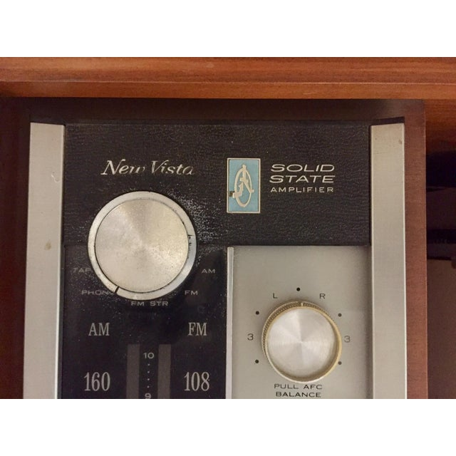 Mid Century Rca Victor Stereo Hi-Fi Cabinet Unit For Sale - Image 5 of 6