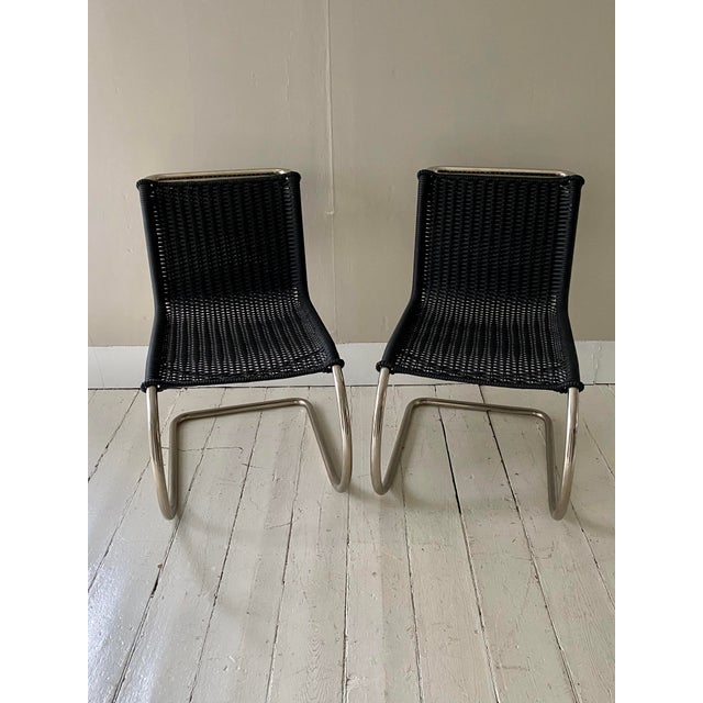 Mies Van Der Rohe Side Chairs- a Pair For Sale - Image 11 of 11