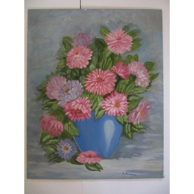 Vintage Flower Still Life - Image 4 of 7