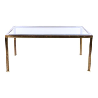 Mastercraft Bronze Dining Table, c. 1970 (no glass, frame only)