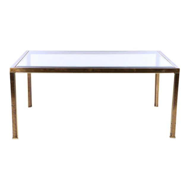 Mastercraft Bronze Dining Table, c. 1970 (no glass, frame only) - Image 1 of 5