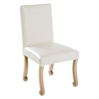 John Dickinson White Side Chair For Sale