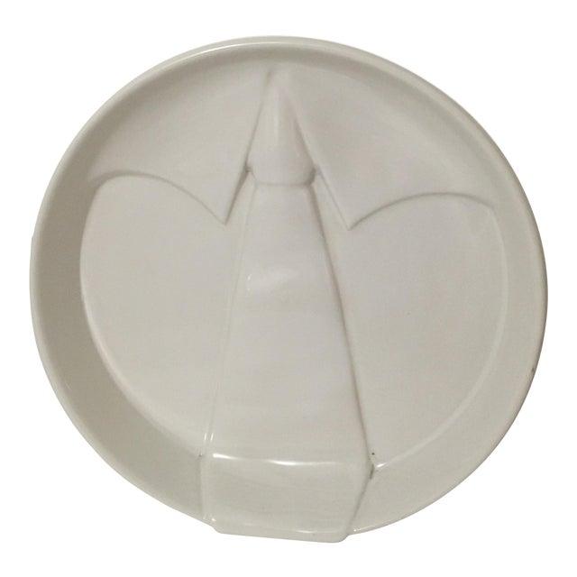 Raymor Italian Ceramic Tie Tray - Image 1 of 5
