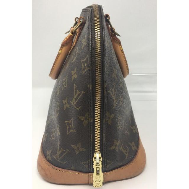 Louis Vuitton Vintage Louis Vuitton Alma Bag For Sale - Image 4 of 8