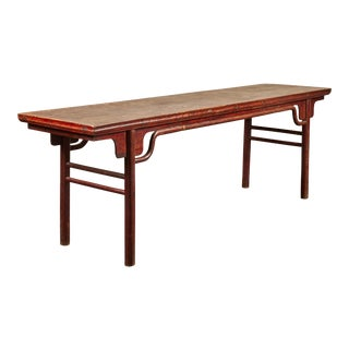 Extra Long 19th C. Chinese Altar Table For Sale