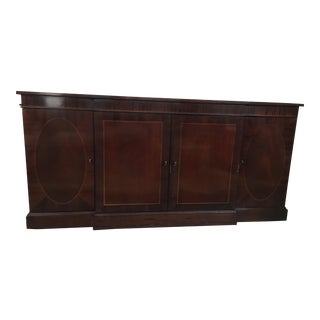 Baker Traditional Wooden Sideboard For Sale