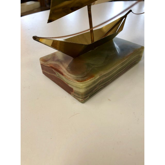 Piece has maintained a nice high shine to the finish. The multicolor banded marble base makes this piece truly unique and...