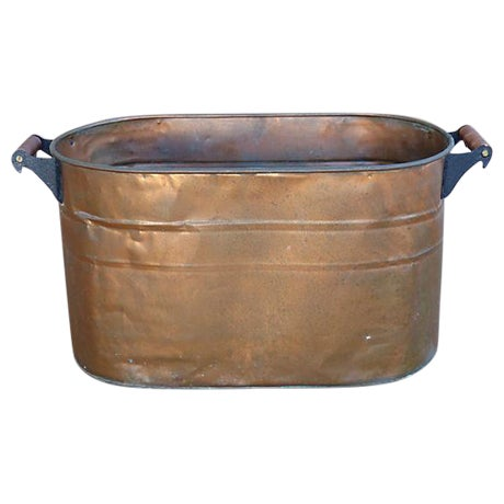 Antique Copper Bucket - Image 1 of 7