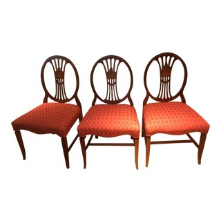 Set of 3 Dining Chairs For Sale