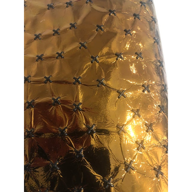 Leather 1960s Max Holzman Metallic Copper Leather Clutch For Sale - Image 7 of 11