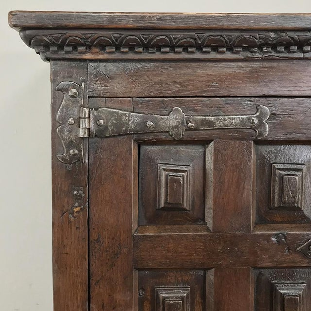Metal 19th Century Spanish Cabinet For Sale - Image 7 of 13