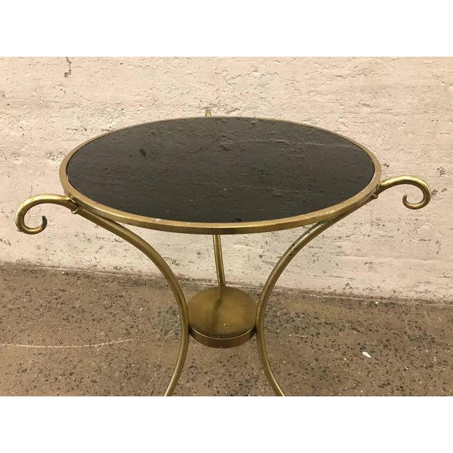 French Maison Baguès Style Gueridon Table For Sale - Image 3 of 4