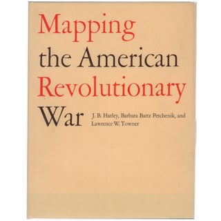 Mapping the American Revolutionary War Book For Sale
