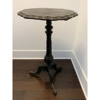 Antique Anglo-Indian Ornamented Pedestal Table Preview