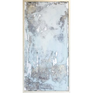 "Stacy Milburn ""Muddled Certainty"" Contemporary Mixed Media Painting on Mirror For Sale"