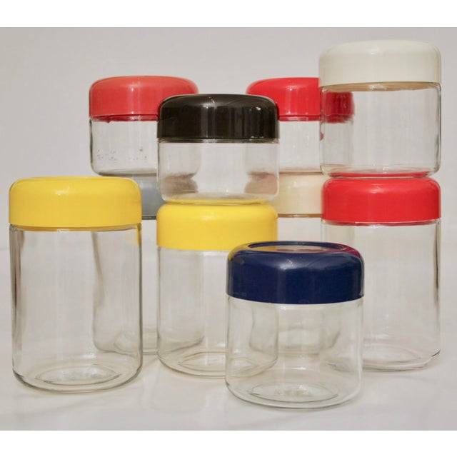 Massimo Vignelli Collection of Glass Storage Jars - Set of 10 - Image 6 of 7