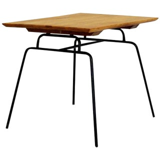 Mid Century Modern McCobb Planner Group Winchendon Maple & Iron End Table 1950s For Sale