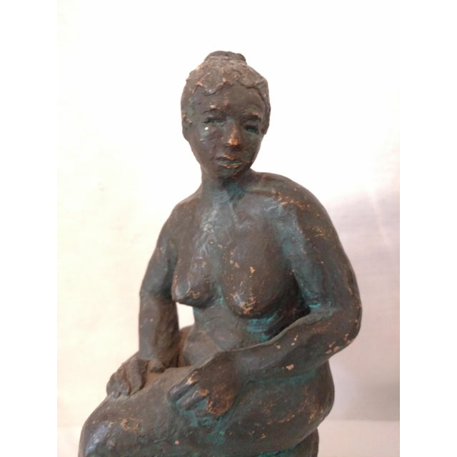 José Luis Cuevas Terra Cotta Woman Sculpture For Sale - Image 5 of 9