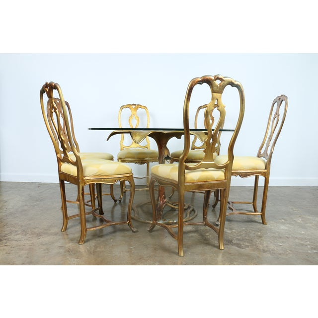 Arthur Court Gilded Lily Dining Set - Set of 7 - Image 2 of 10