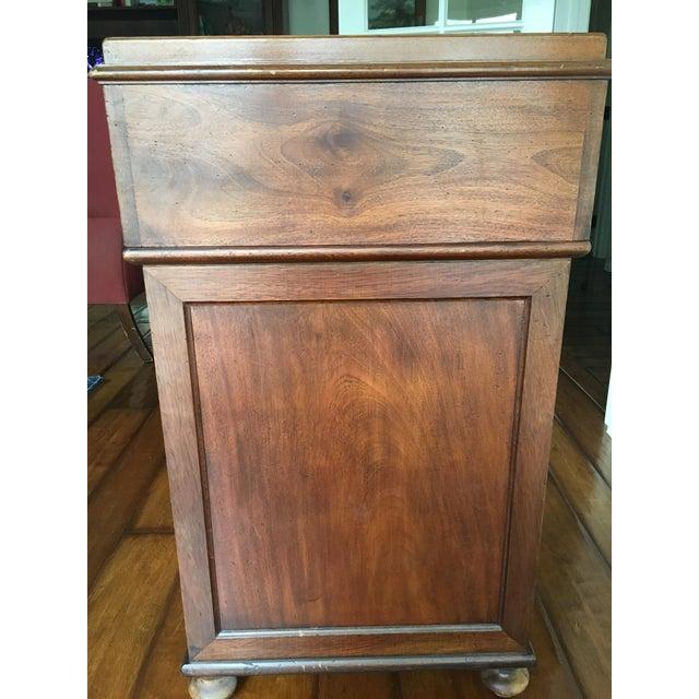 Antique British Colonial Davenport/Captain's Desk For Sale - Image 4 of 10