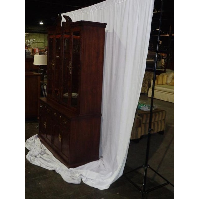 Thomasville Mahogany China Cabinet - Image 4 of 6