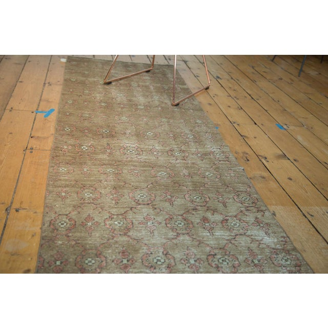 "Vintage Turkish Konya Runner - 2'6"" x 8'5"" For Sale - Image 4 of 8"