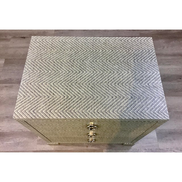 Modern Bungalow 5 Modern Tweed Brittany Chest of Drawers For Sale - Image 3 of 6