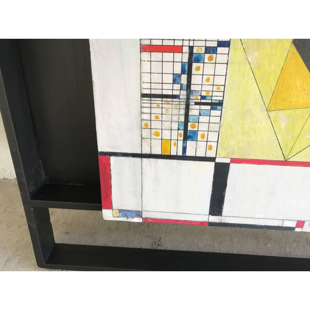 1940s James McCray, 1945 Abstract Geometric San Francisco Museum of Art Exhibition Tag For Sale - Image 5 of 11