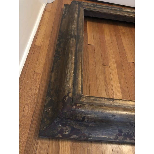 Baroque 17th Century Antique Spanish Baroque Picture Frame For Sale - Image 3 of 11